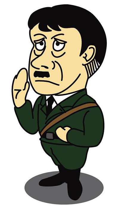 ヒトラー風キャラクター 1