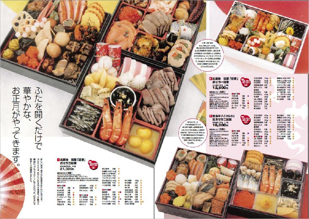宅配食品サービス季節カタログ(提案) 2009  中面